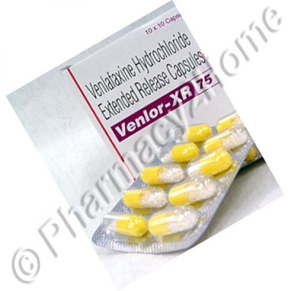 Venlor Xr 75 & 150 Mg (Venlafaxine)