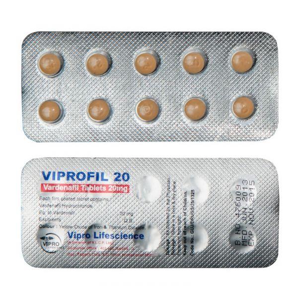 Viprofil 20Mg (Vardenafil)