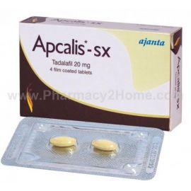 Apcalis Sx 20 Mg (Tadalafil)