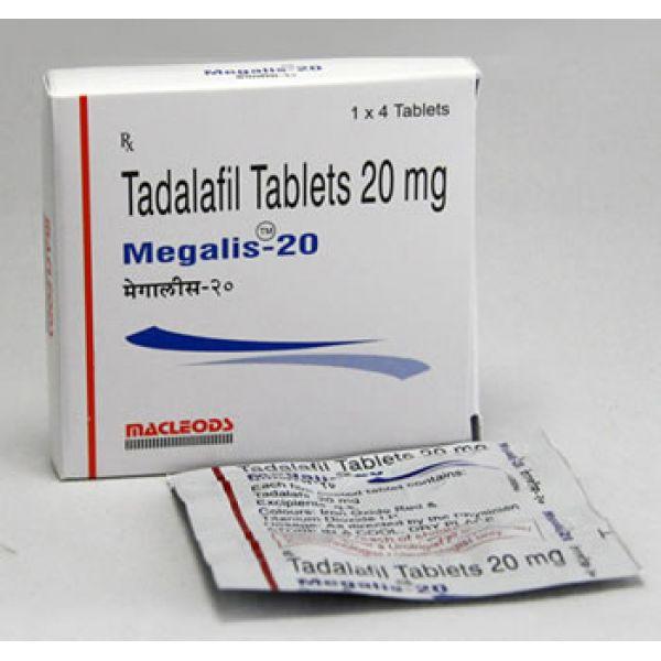Megalis 20 Mg (Tadalafil)