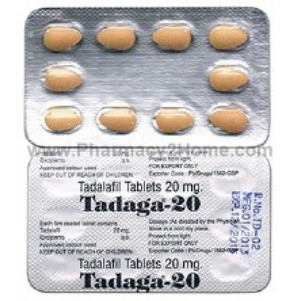 Tadaga 20 Mg (Tadalafil)