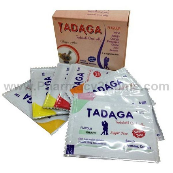 Tadaga Oral Jelly Flavoured 20 Mg