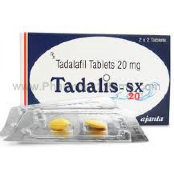 Tadalis Sx 20 Mg (Tadalafil)