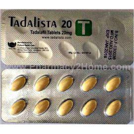 Tadalista 10 & 20 Mg (Tadalafil)