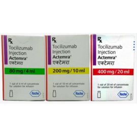 Coronavirus (COVID-19): Tocilizumab Injection Actemra 80mg / 200mg / 400mg