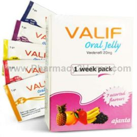 Valif 20Mg Oral Jelly (Vardenafil)
