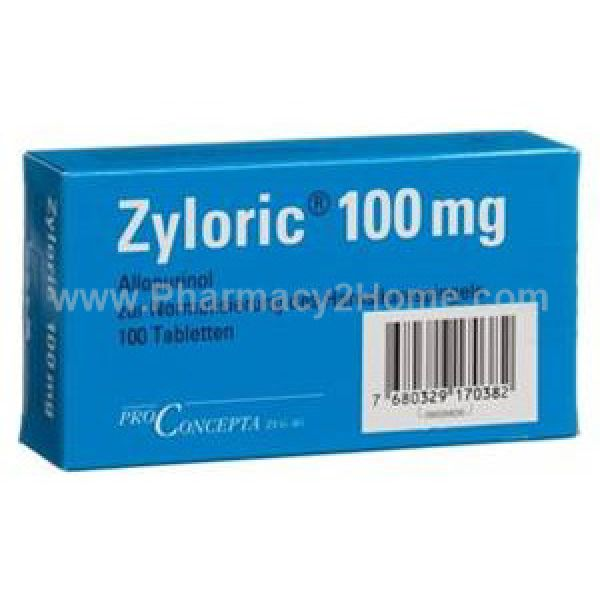 Zyloric 100 & 200 Mg (Allopurinol)