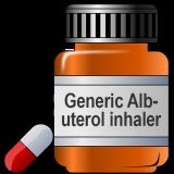 Generic Albuterol inhaler 200MD