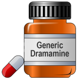 Generic Dramamine (DIMENHYDRINATE) 50 Mg