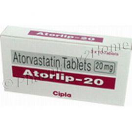 Atorlip 10 Mg Tablets (Atorvastatin)