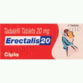 Erectalis 20 Mg (Tadalafil)