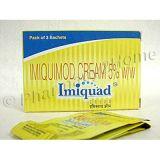 Generic Aldara (imiquimod, Imiquad Cream) 5% w/w