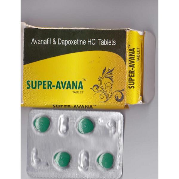 Avana Super 160 Mg (Avanafil & Dapoxetine)
