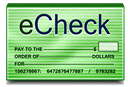 Pharmacy2Home.com accepts eCheck